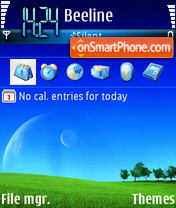 Day dreems theme screenshot