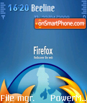 Firefox 05 theme screenshot