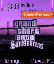 Gta San Andreas 07 es el tema de pantalla