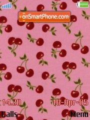 Cherries tema screenshot