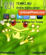 Frog 07 tema screenshot