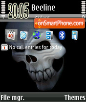Maska 02 theme screenshot