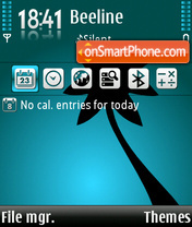Palm 01 theme screenshot