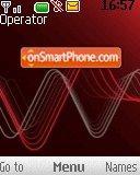 Express music wave es el tema de pantalla
