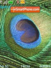 Eye peacock theme screenshot