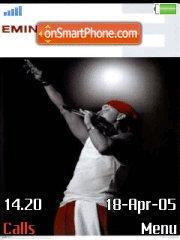 Скриншот темы Eminem Relaose