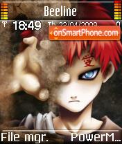 See Me Gaara theme screenshot