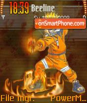 Naruto Jeals theme screenshot
