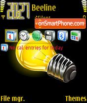 The lamp theme screenshot