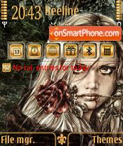 Gothic vf theme screenshot
