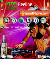 SuperDJ theme screenshot