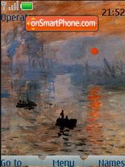 Monet theme screenshot