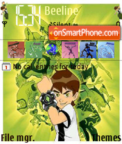 Ben 10 theme screenshot