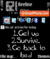 Things To Do theme screenshot