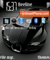 Скриншот темы Black Veyron