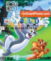 Скриншот темы Tom and Jerry