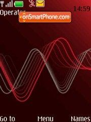 Xpress Music Red theme screenshot