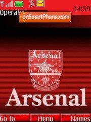Arsenal 09 theme screenshot
