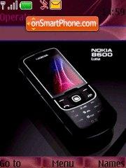 Nokia 8600 Luna theme screenshot