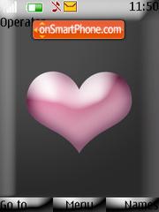 Pink Heart theme screenshot