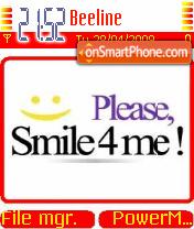 Smile4Me es el tema de pantalla