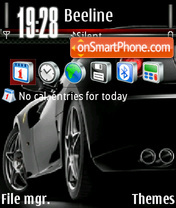 Ferrari v2 theme screenshot