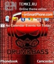 Drum and bass tema screenshot
