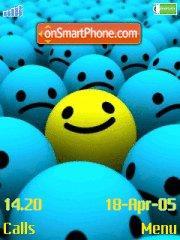 Скриншот темы Smile
