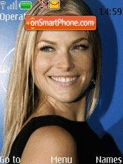 Ali Larter theme screenshot