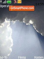 Clouds Dark theme es el tema de pantalla