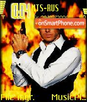 James Bond Agent 007 theme screenshot
