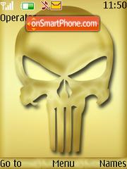 Punisher theme screenshot