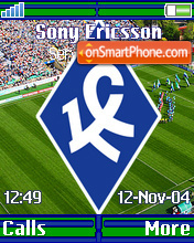 FC Krilya Sovetov es el tema de pantalla