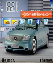 Mercedes Benz Car theme screenshot