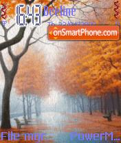 Autumn Season es el tema de pantalla