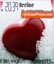 Cold Heart Red Heart es el tema de pantalla