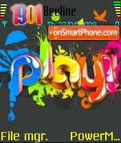 Play 02 es el tema de pantalla