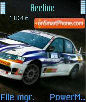 Super Drift Car es el tema de pantalla
