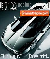 Скриншот темы Lamborghini Concept