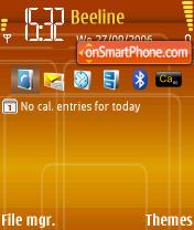 Скриншот темы Retro N