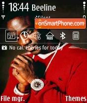 Akon theme screenshot