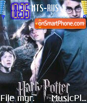 Harry Potter 3 theme screenshot