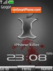 Скриншот темы iPhone Killer Clock
