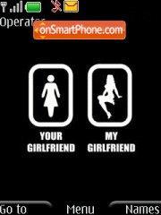 Girlfriend es el tema de pantalla