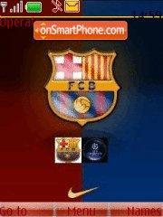 Barcelona Fc 01 theme screenshot