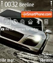 Скриншот темы Audi R8 12