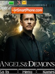 Angels & Demons theme screenshot