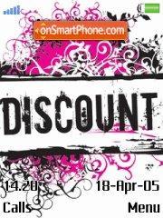 Discount theme screenshot