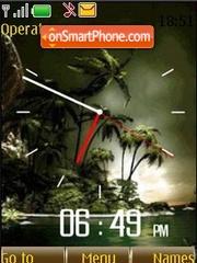 Скриншот темы Swf palms