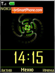 Скриншот темы Animated flash 1.1